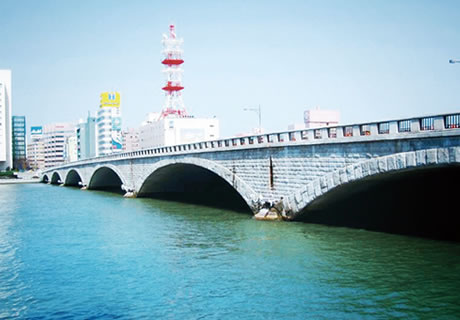 新潟の風景、万代橋