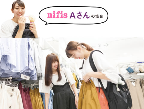 nifis Aさんの場合